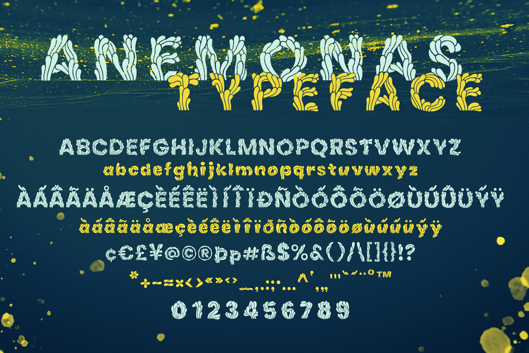 Anemonas Typeface example image 3
