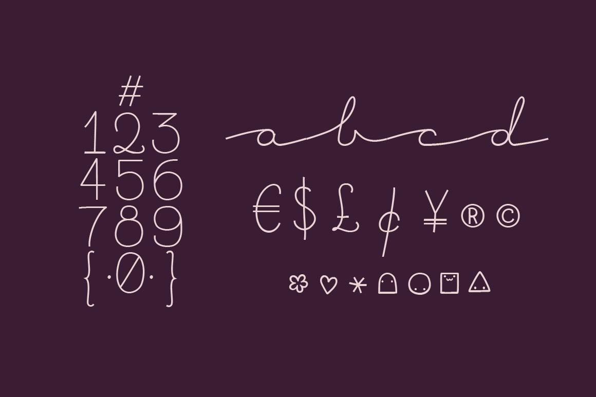 Bacana Font Family example image 5