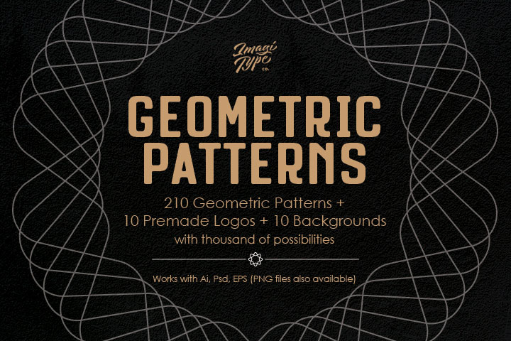 Geometric Patterns Kit example image 1