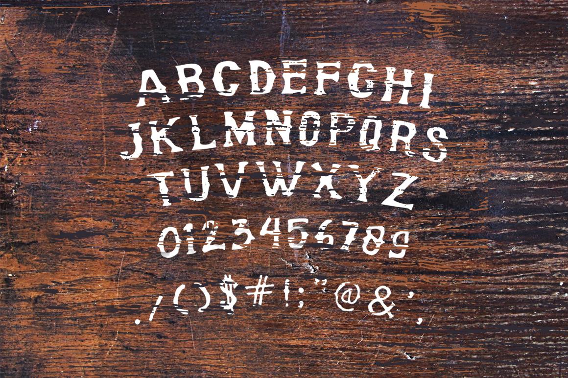 Bonerica Typeface example image 2