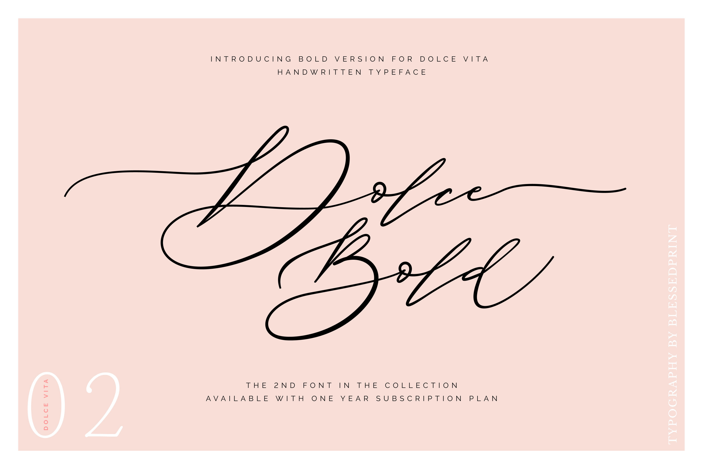 DolceVita - luxury font family with 50 ligatures example image 13