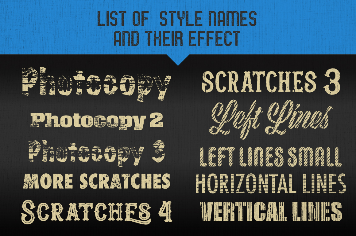 Letterpress Vector Textures example image 9
