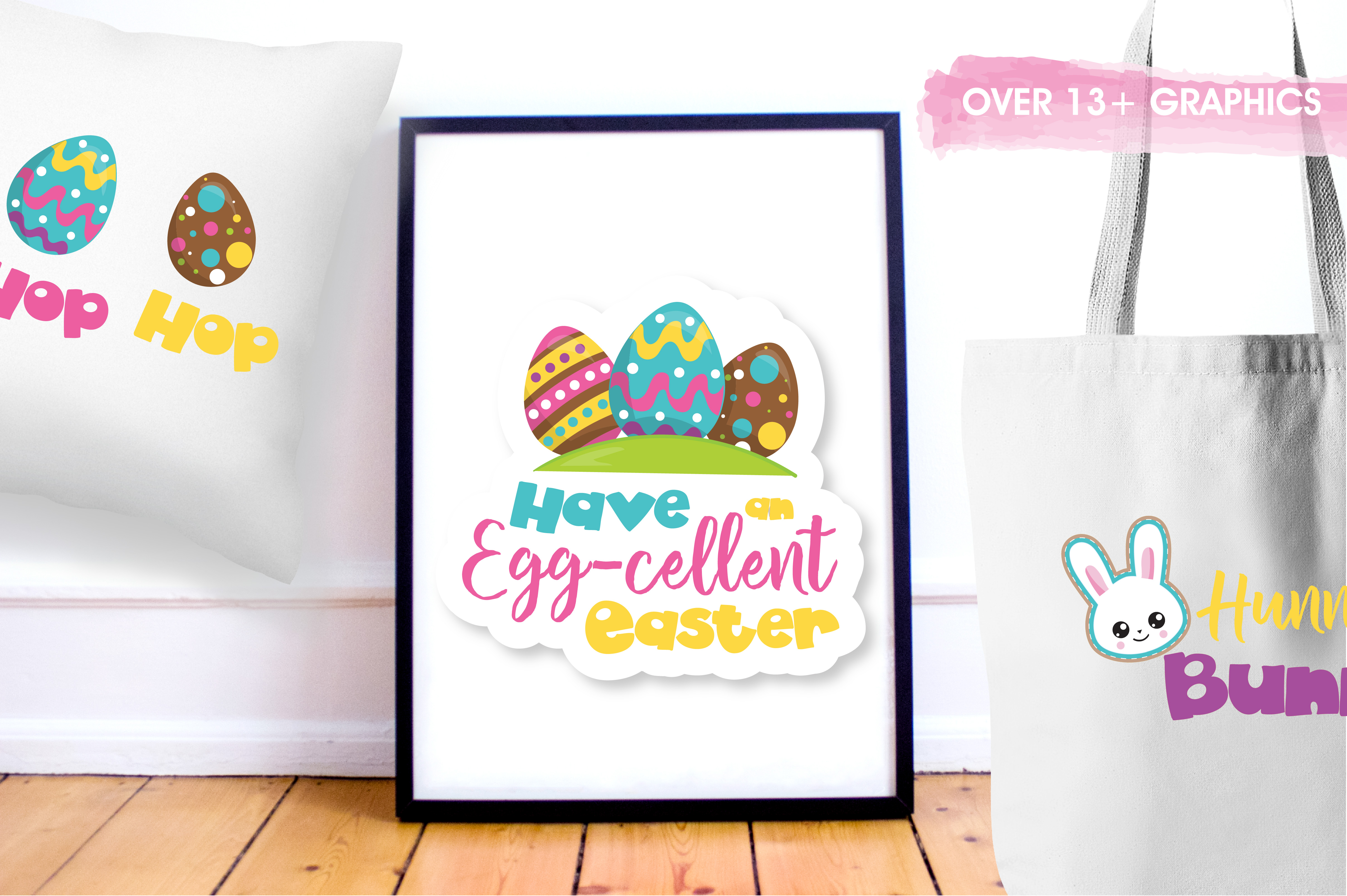 Easter word art graphics and illustrations example image 5