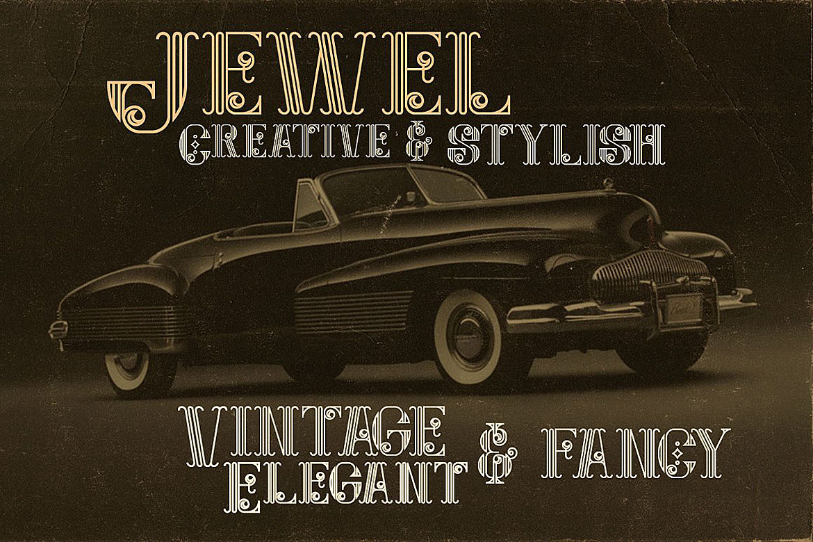 Jewel - Display Font example image 5