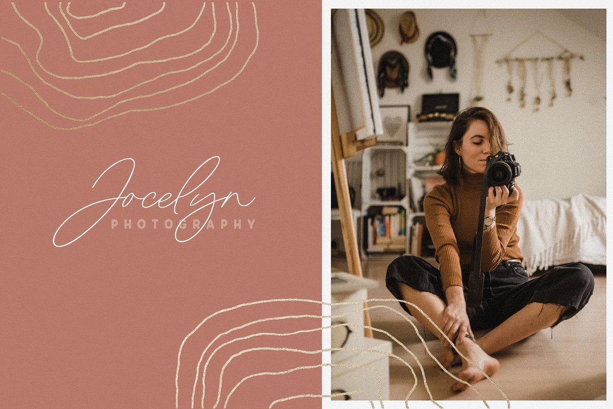 Modern Bohemian Font Duo example image 6