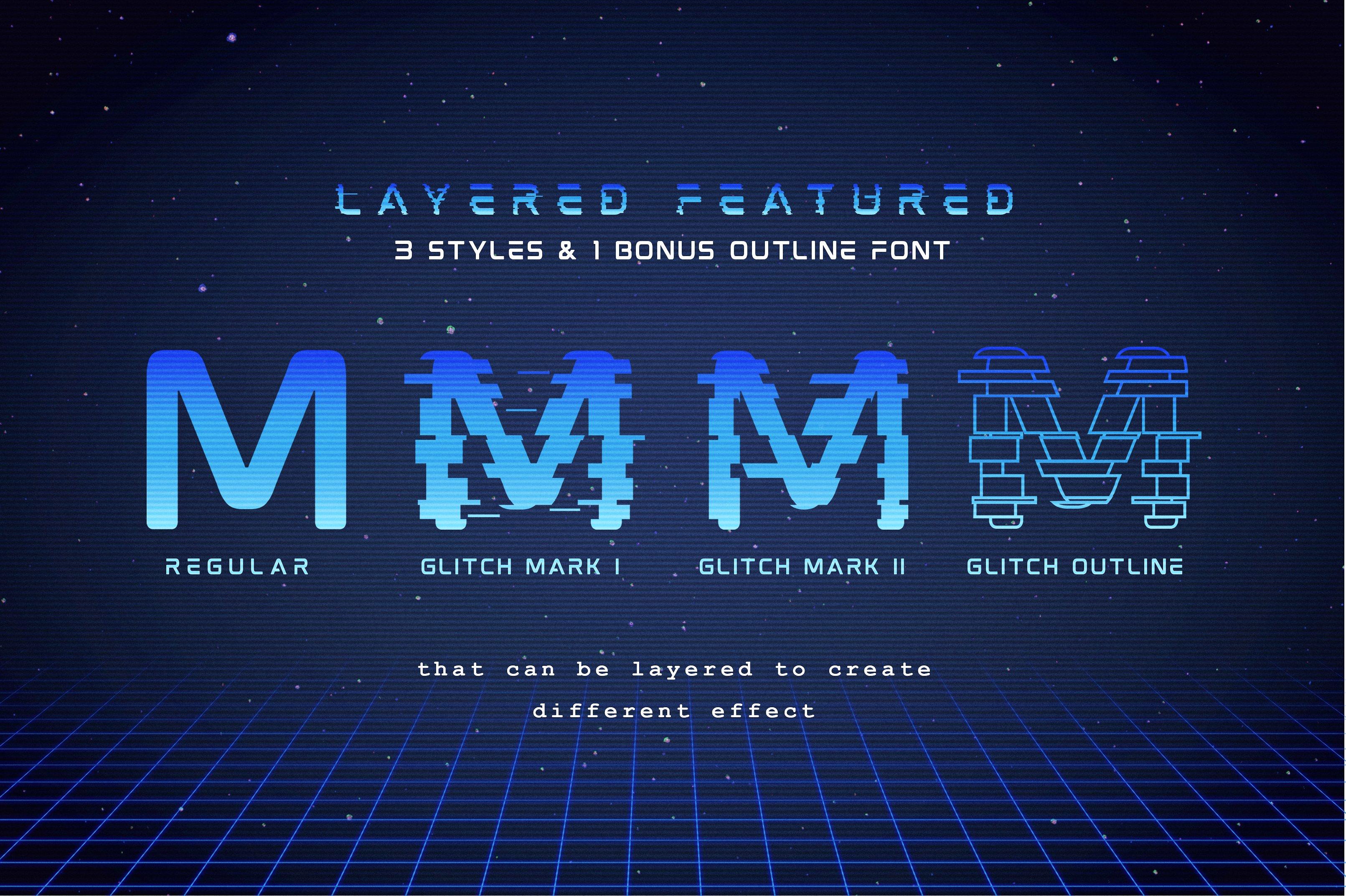 Mokoto Glitch Typeface example image 5