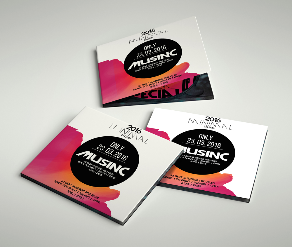 CD Covers Templates ( NOT a Mockup ) example image 2