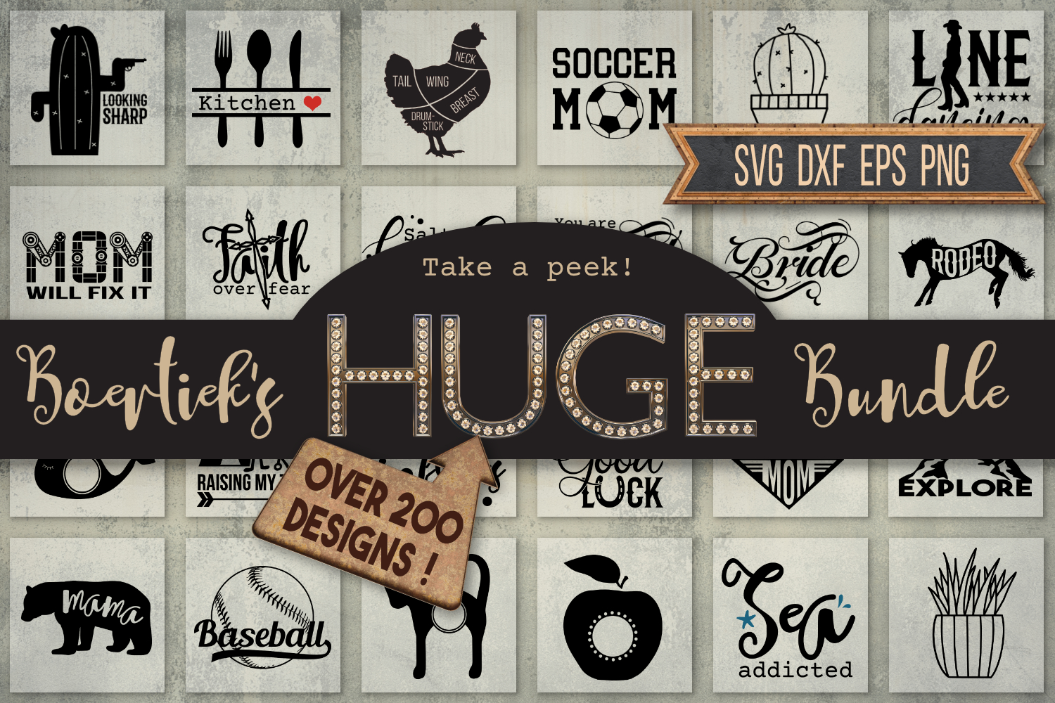 Boertiek's HUGE bundle, for all kind of occasions example image 1