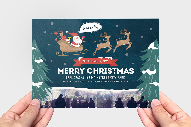 Christmas Flyer example image 2