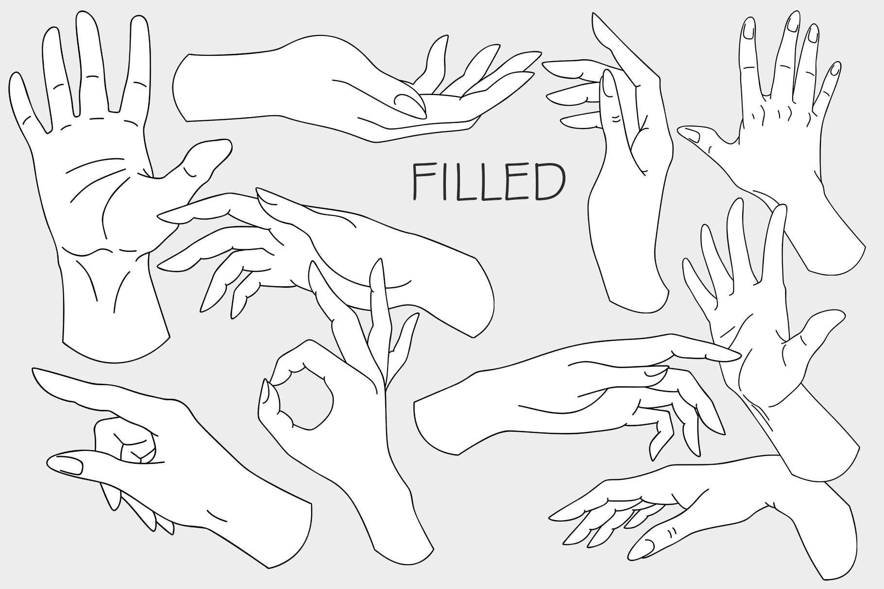 10 HANDS in simple design example image 6