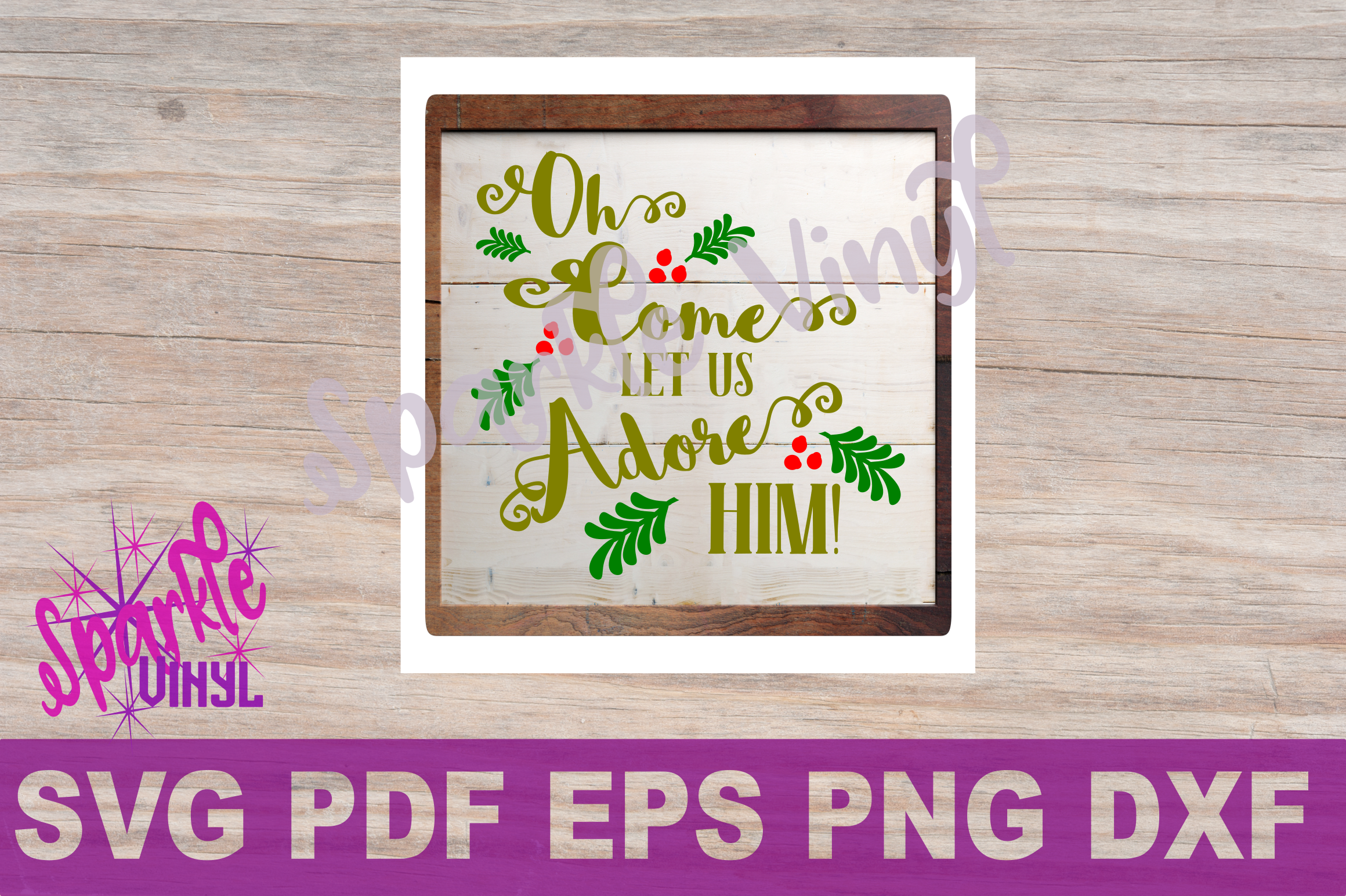 Svg Christmas Sign Stencil Bundle printable svg dxf png pdf esp files for cricut or silhouette Merry Christmas Trees Sold here Mistletoe svg example image 11