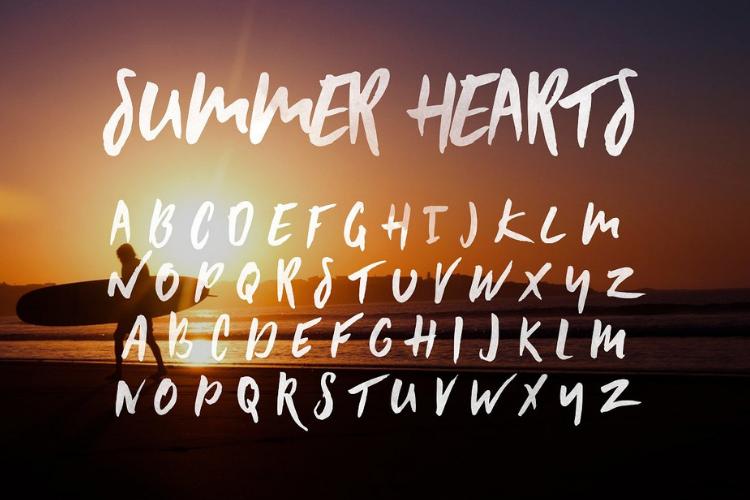 Greenstone Script - Font example image 2