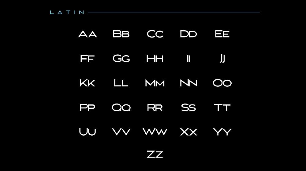 MAVERIX font example image 2