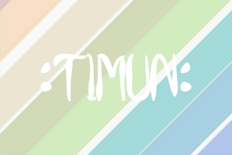 timunfont example image 3