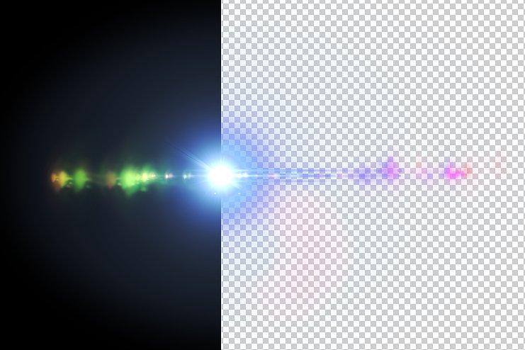 Optical Flares (30 Lens flares) example image 3