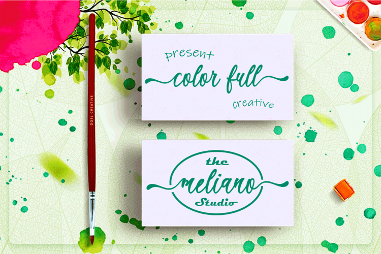 The Best Font Bundle Collection example image 18