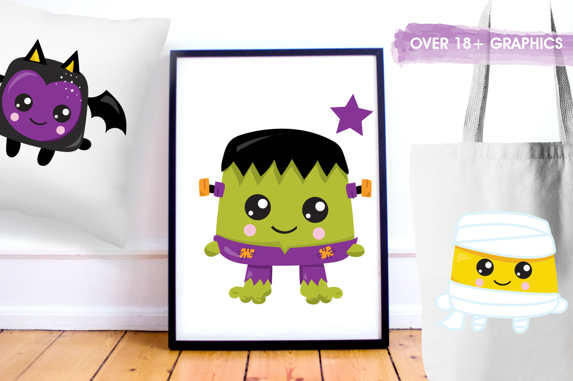Halloween graphic and illustrations example image 3
