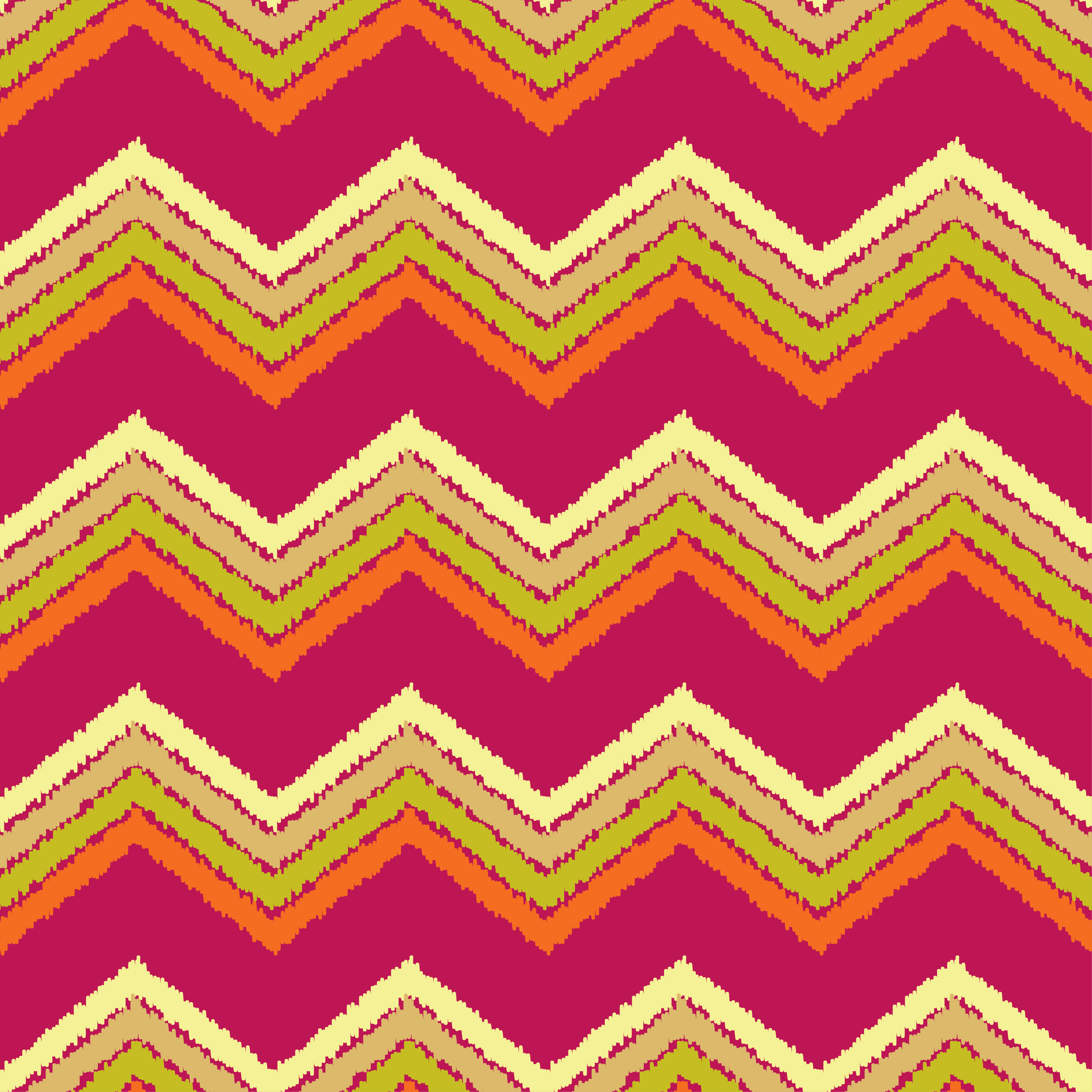 Ethnic boho seamless pattern. Scribble zigzag texture.  example image 7