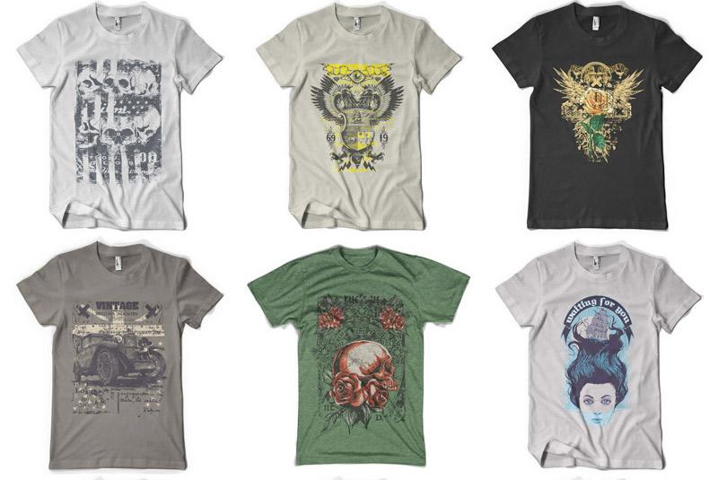 100 Premium T-shirt Designs example image 17