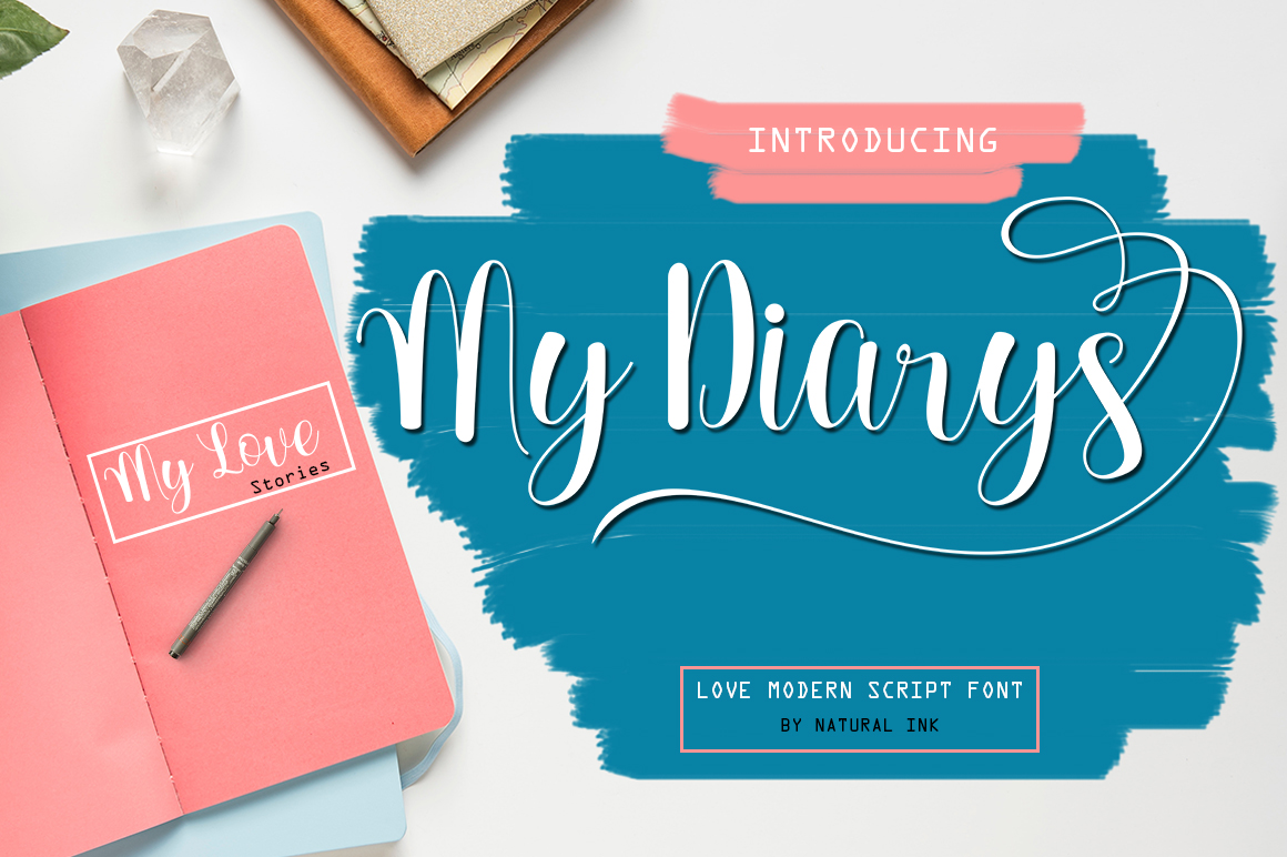 Lovely thing Font Bundles example image 4