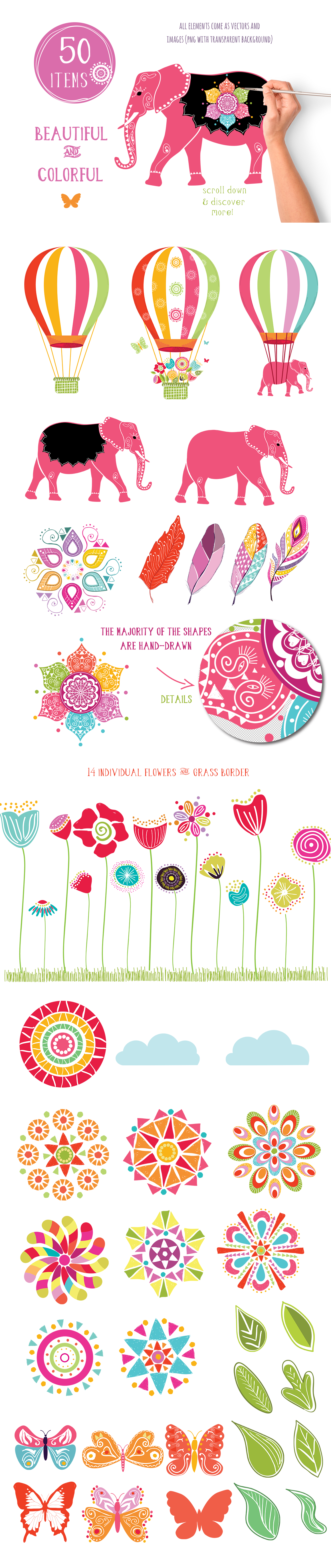 Playful Summer Colorful Bohemian example image 21
