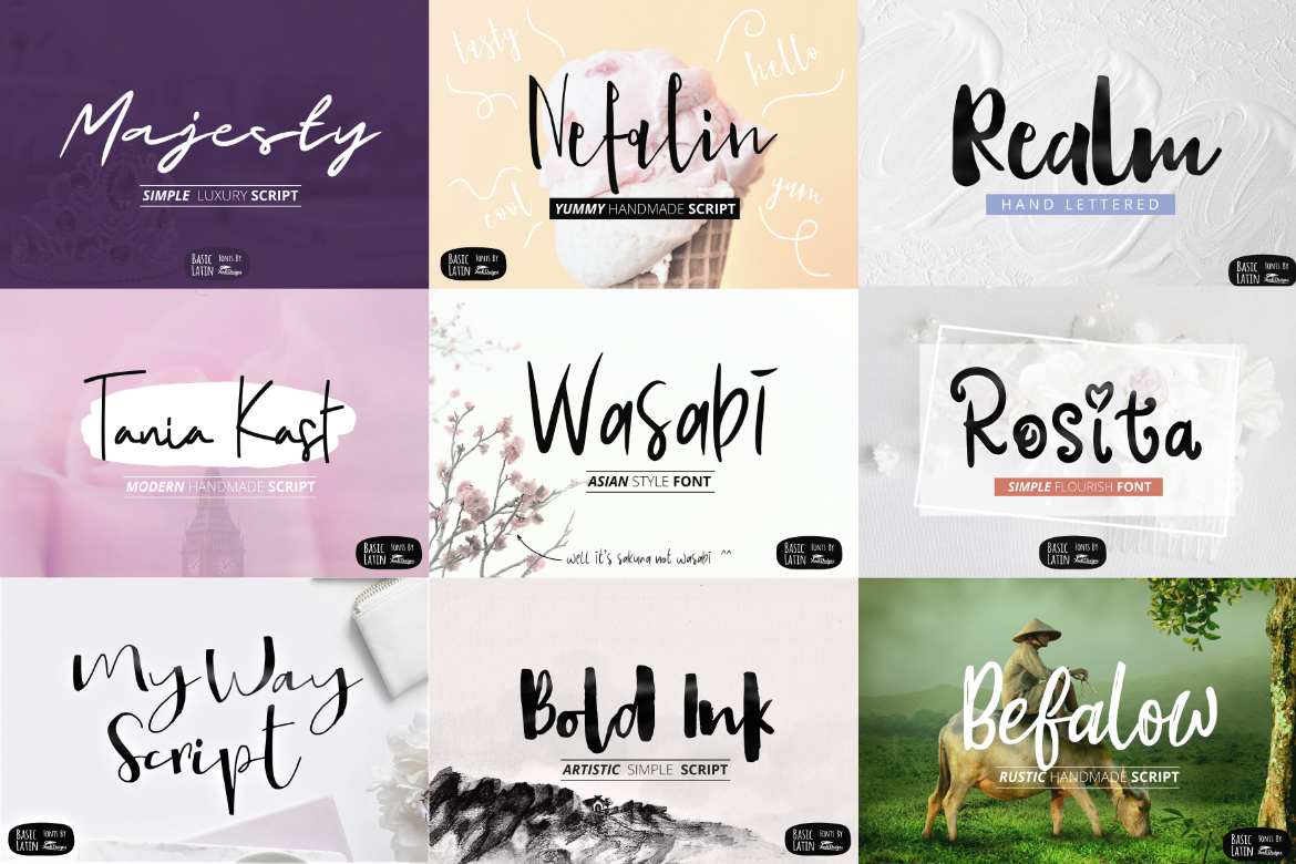 Humble Deal - 20 Font Bundle example image 3