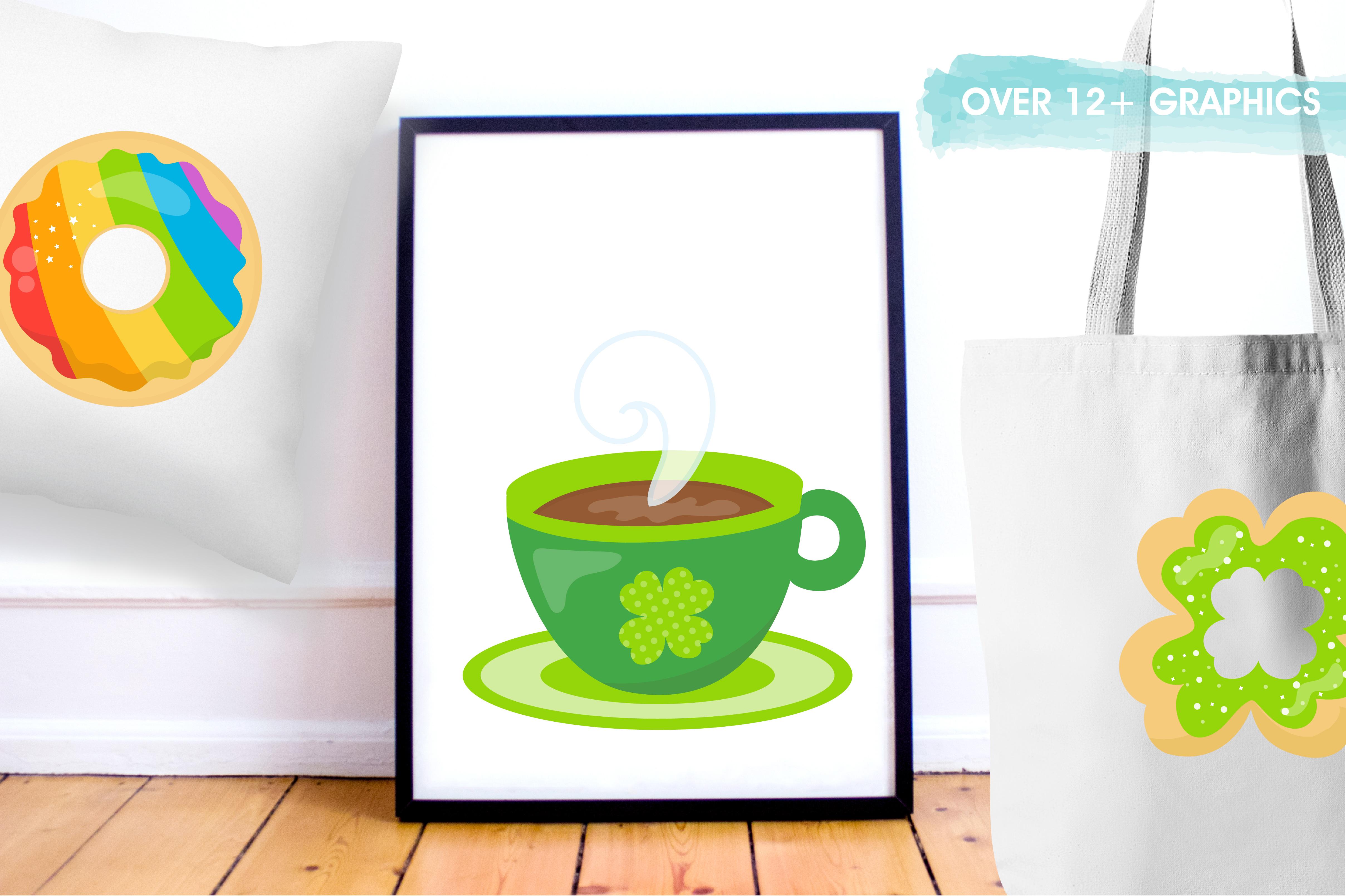 Irish coffee graphics and illustrations example image 2