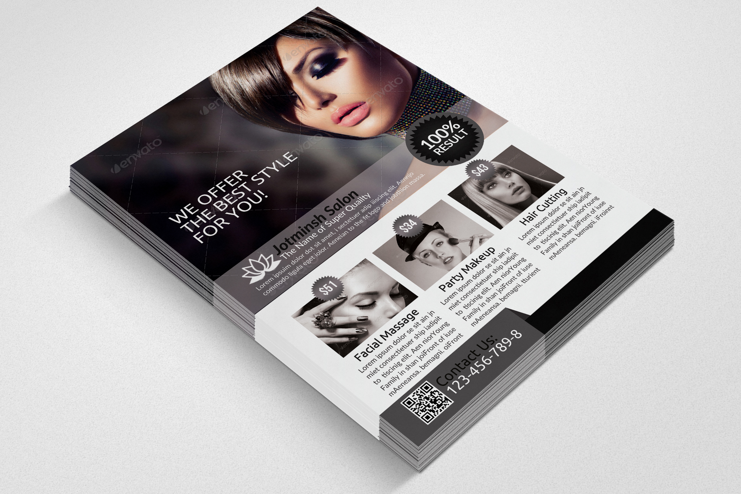 Beauty Salon Flyers example image 2