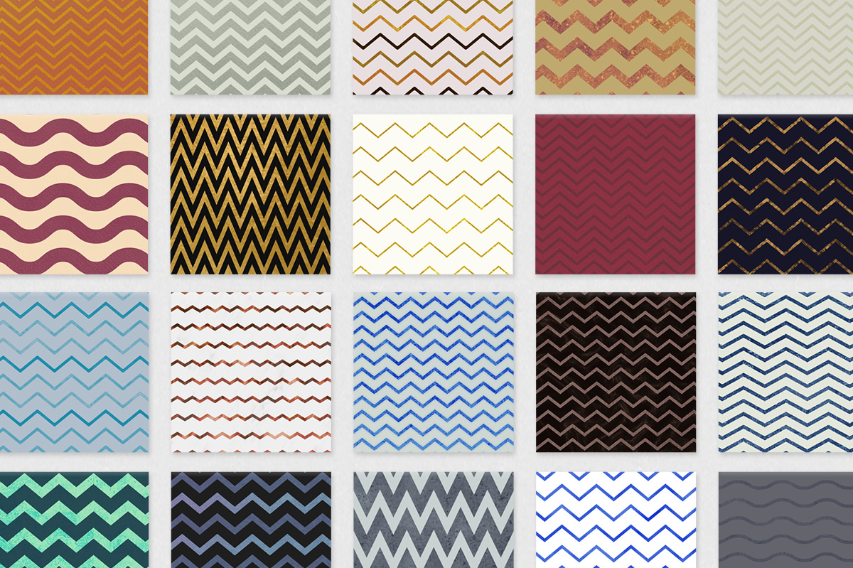 Chic Chevron Backgrounds example image 2