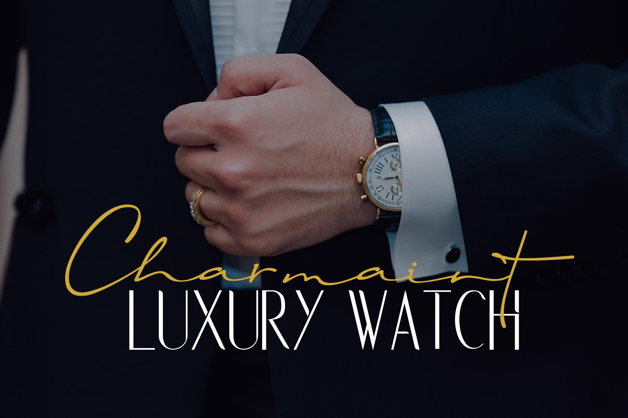 Rochefort   Luxury Signature Font Duo example image 6
