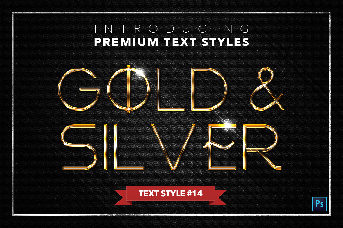 Gold & Silver #3 - 15 Text Styles example image 6