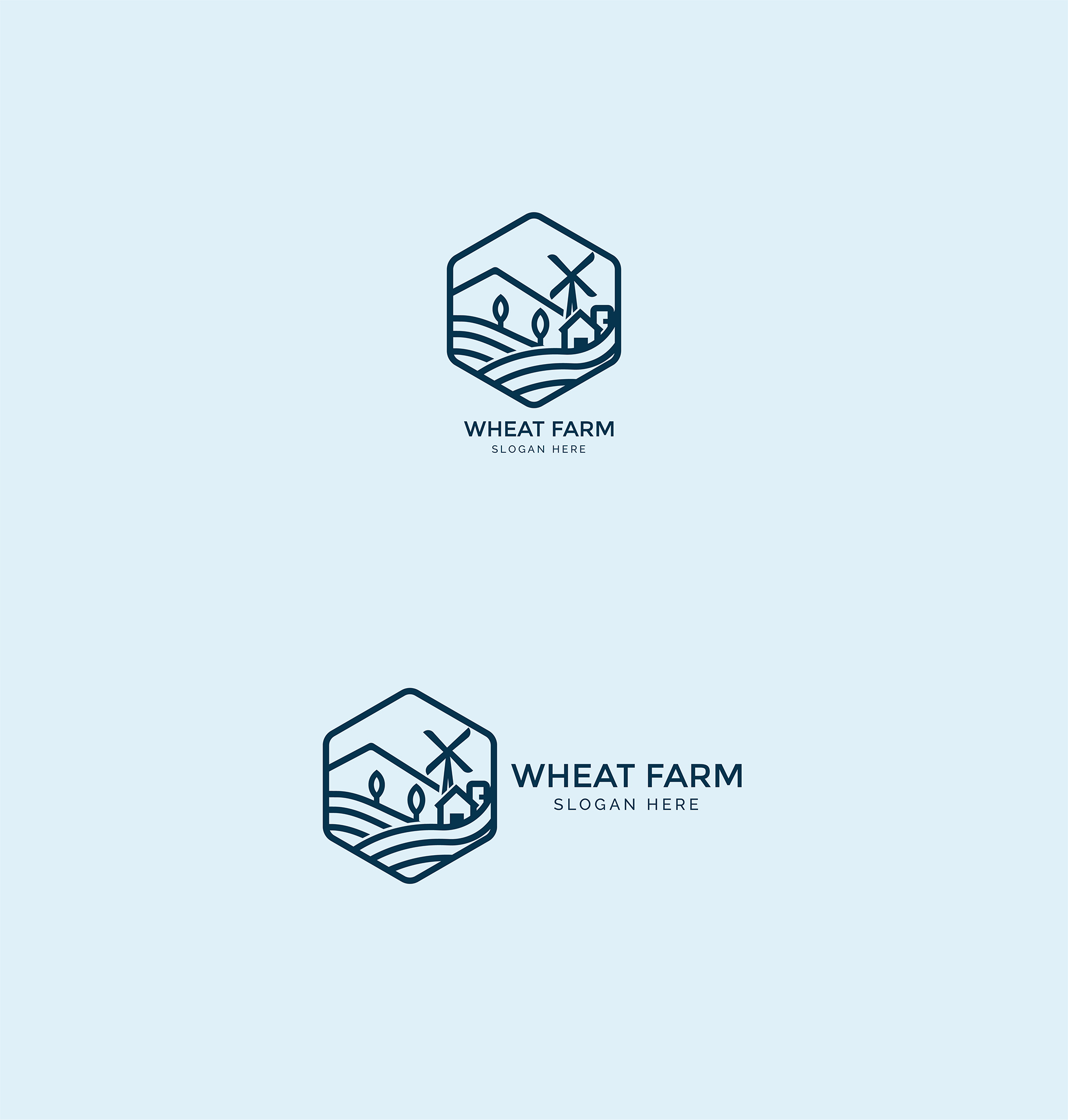 Agriculture - Wheat Farm Logo example image 2