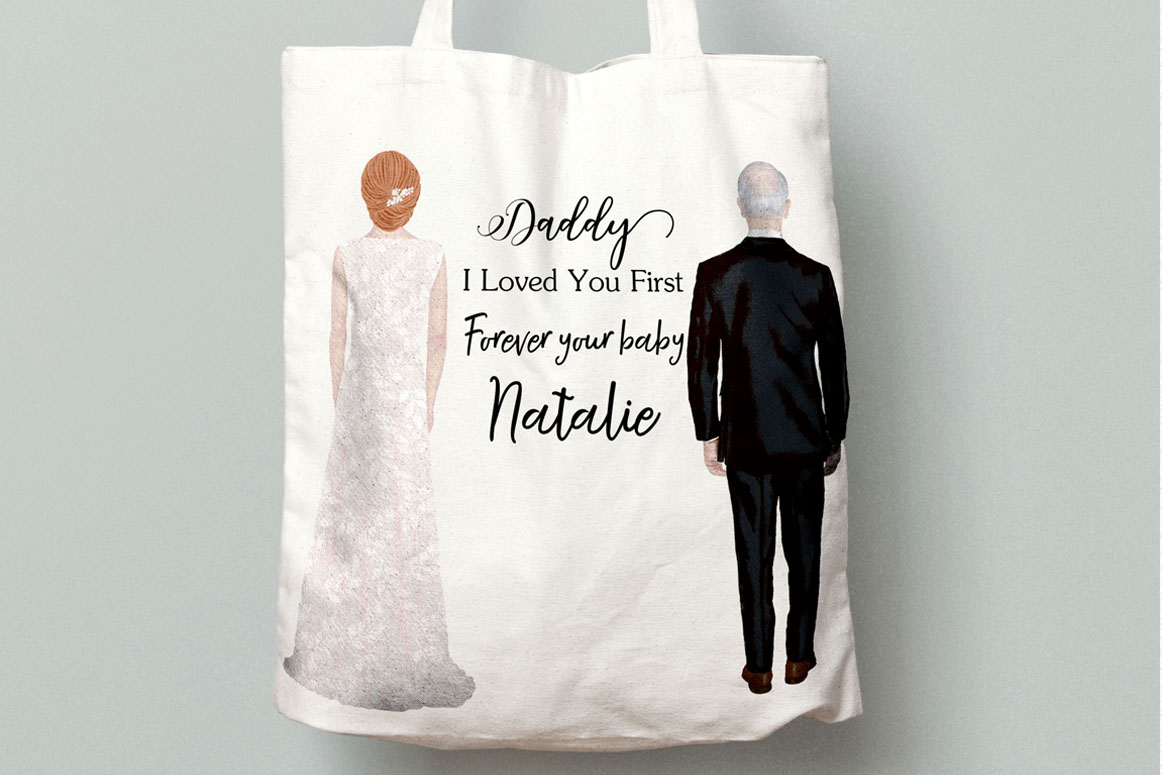 Bride and Groom clipart Wedding Clipart Wedding illustration example image 2