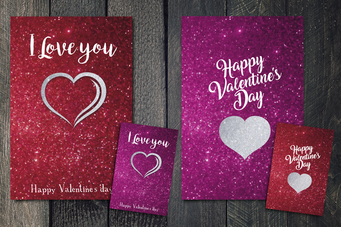 Valentines's Day greetings cards example image 5