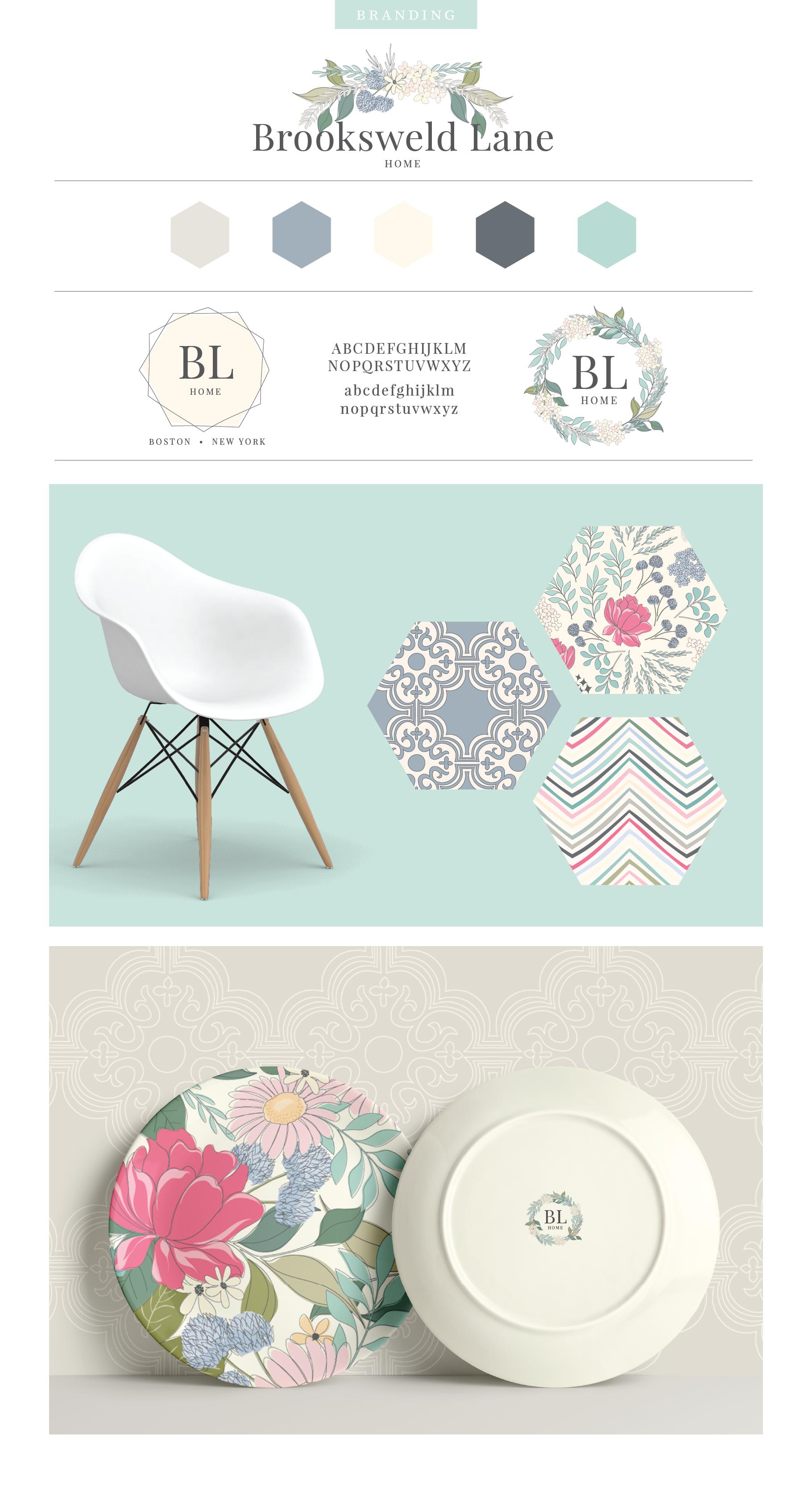 Floral Pattern Design Set example image 10