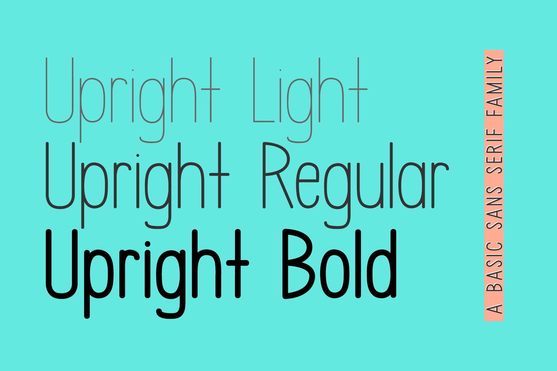 Upright - A Handwritten Sans Serif example image 2