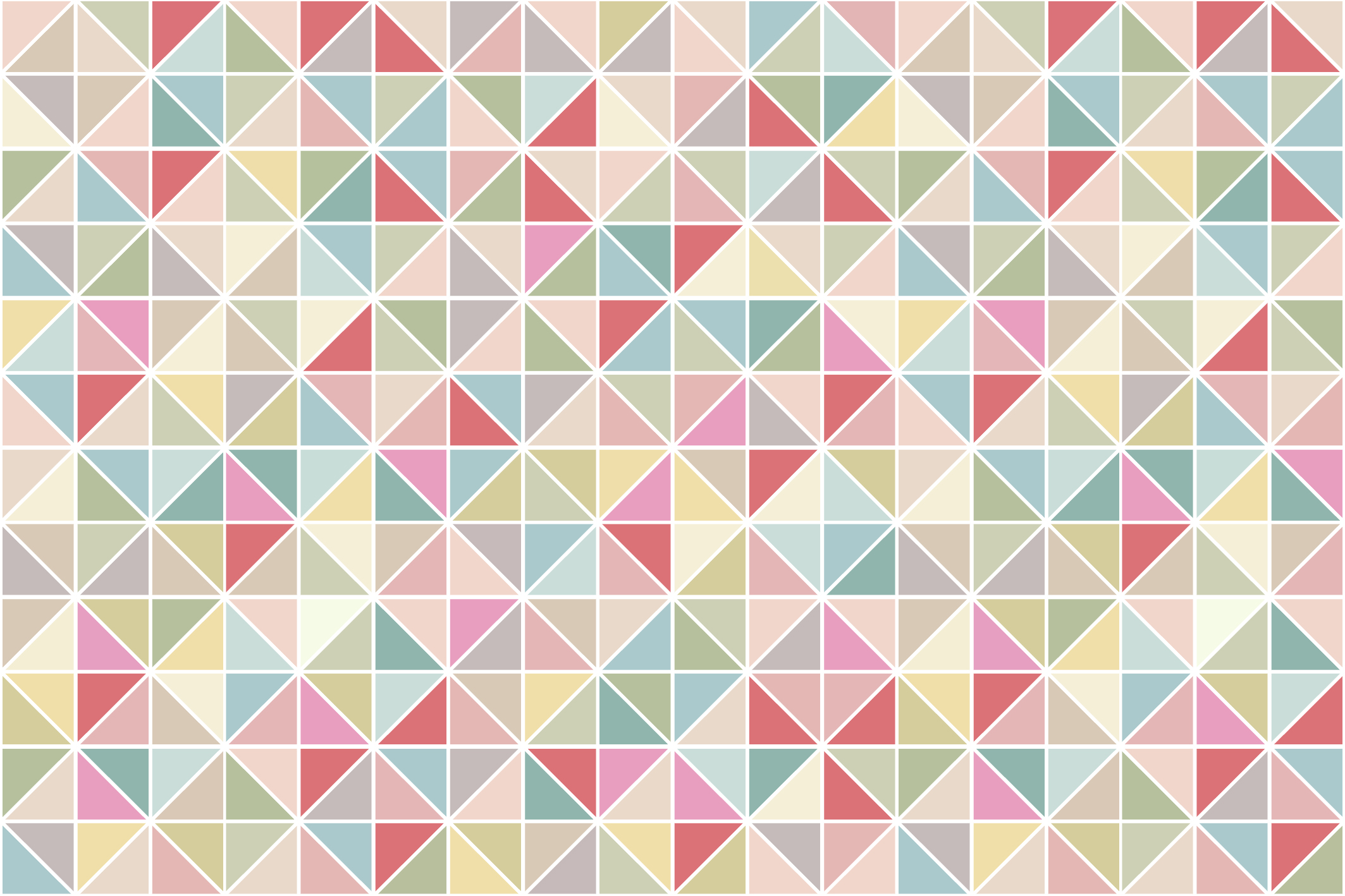 Swatches of mosaic seamless patterns example image 13