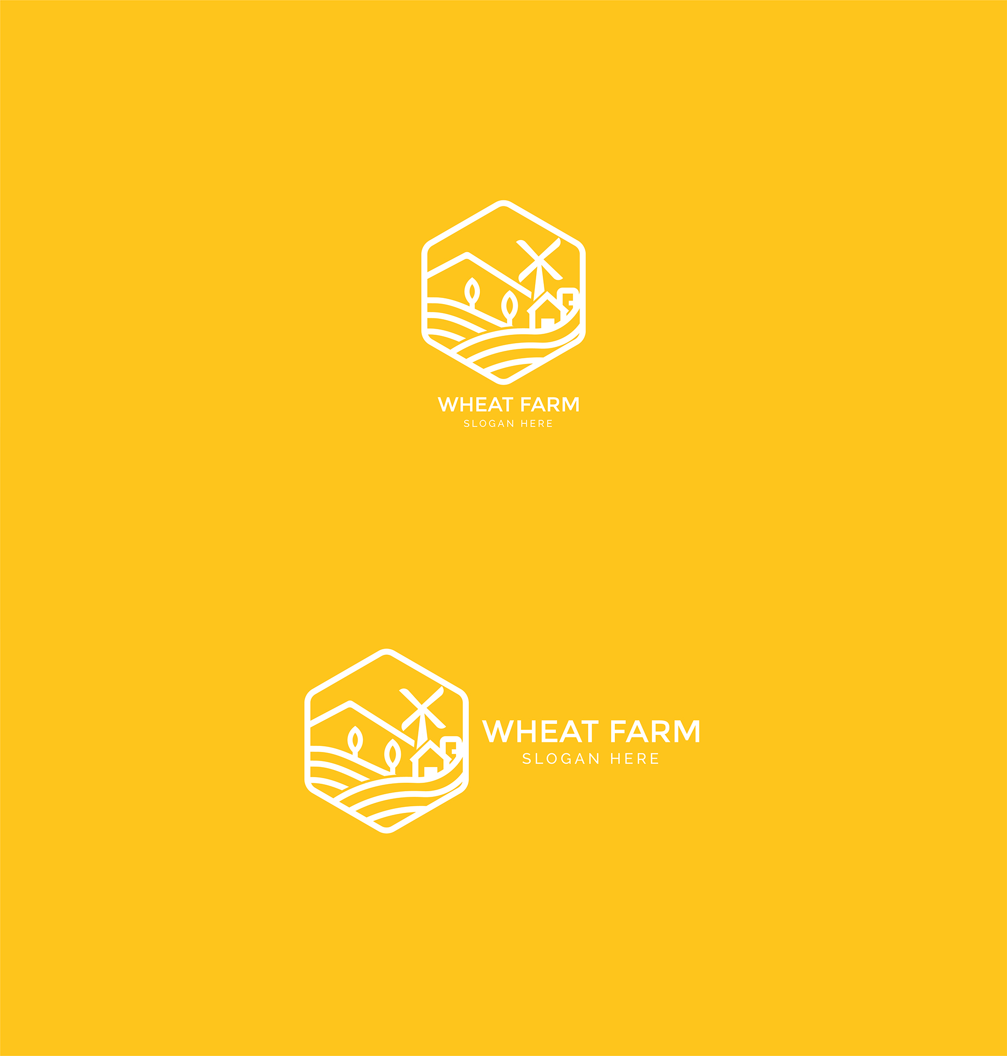 Agriculture - Wheat Farm Logo example image 6