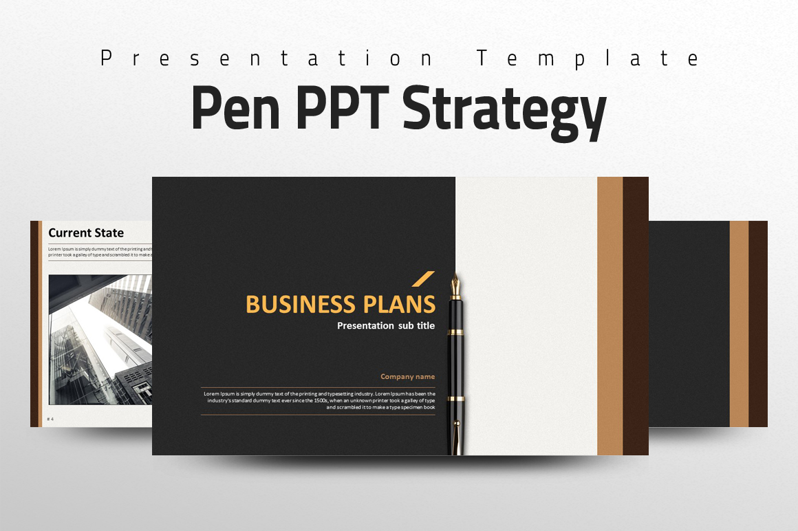 Pen PPT Strategy example image 1