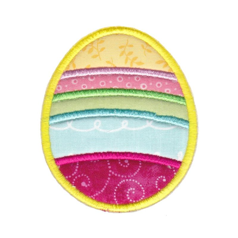 Easter Applique Too - 16 Machine Embroidery Designs example image 15