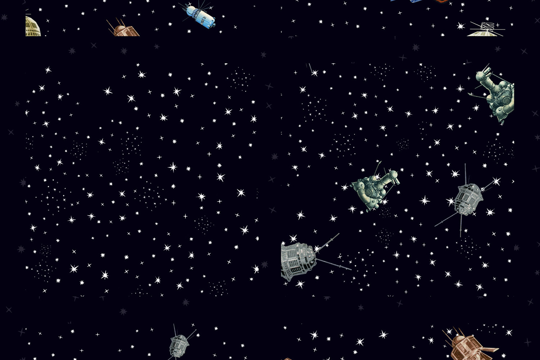 Gagarin - Patterns & Illustrations example image 11