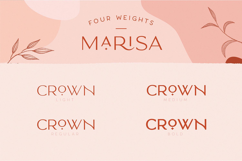 Classy Marisa - Elegant Fashion Stylish Typeface example image 3