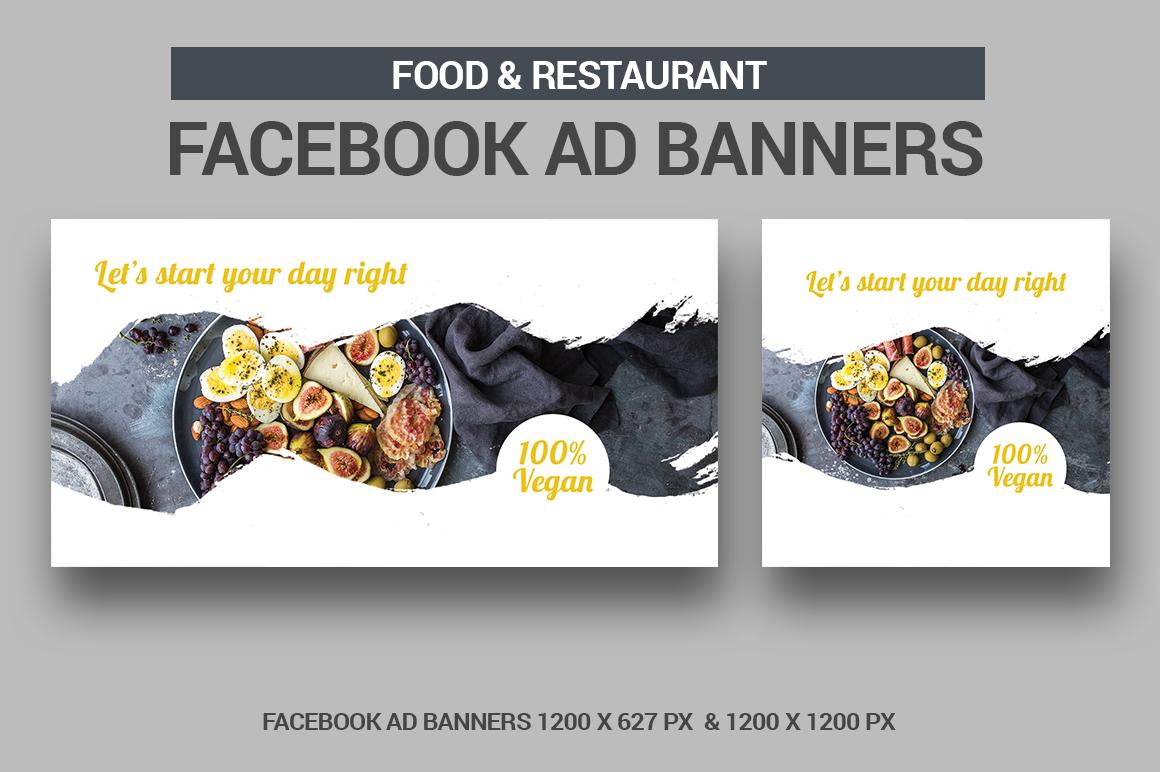 Food & Restaurant - Facebook Ads example image 1