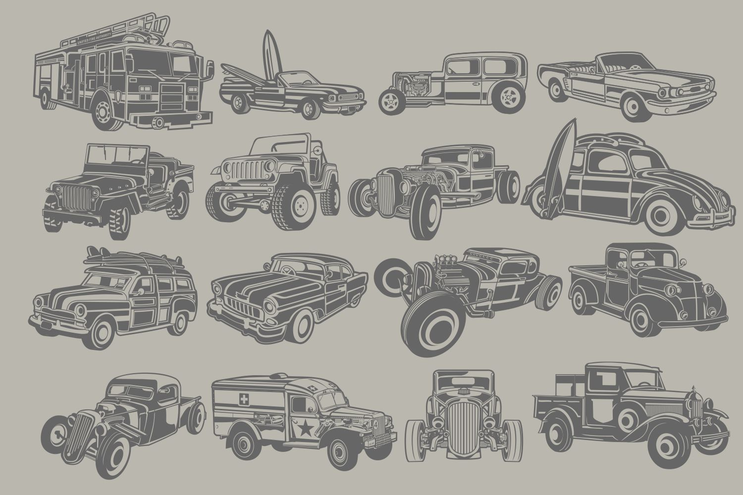 The Vector Bundle - 147 Vector Objects example image 5