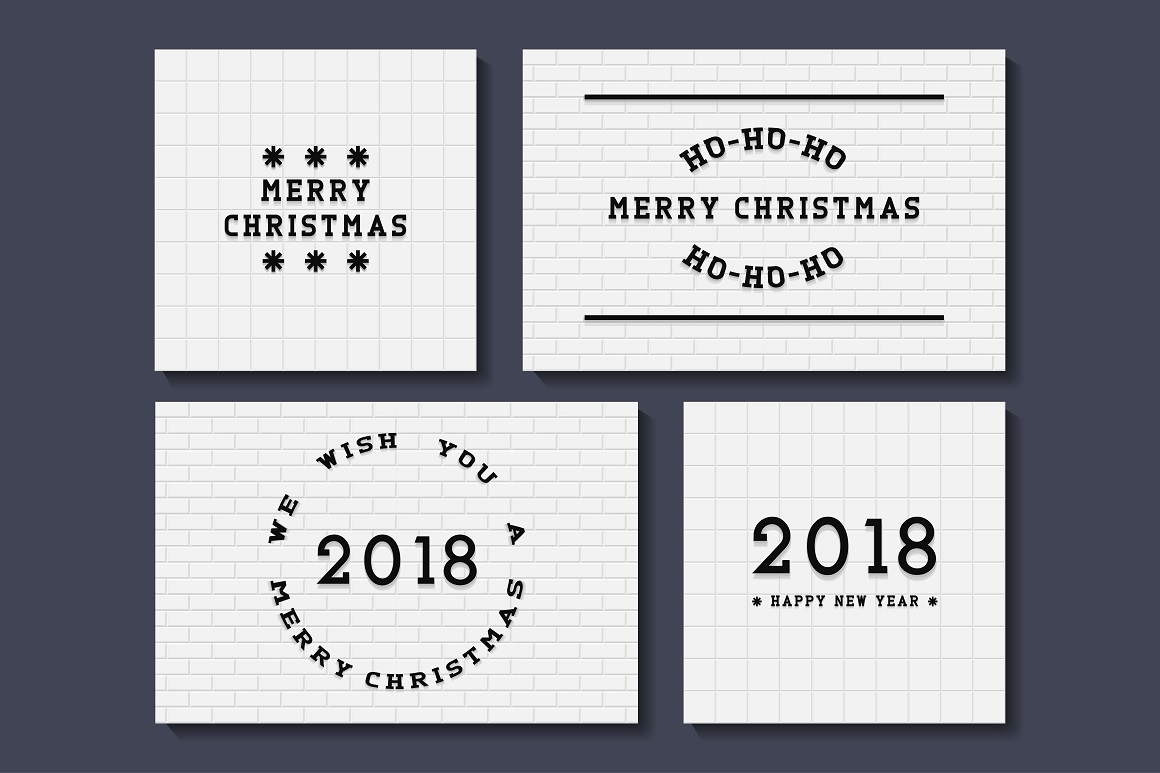 Creative Bundle of New Year posters example image 1
