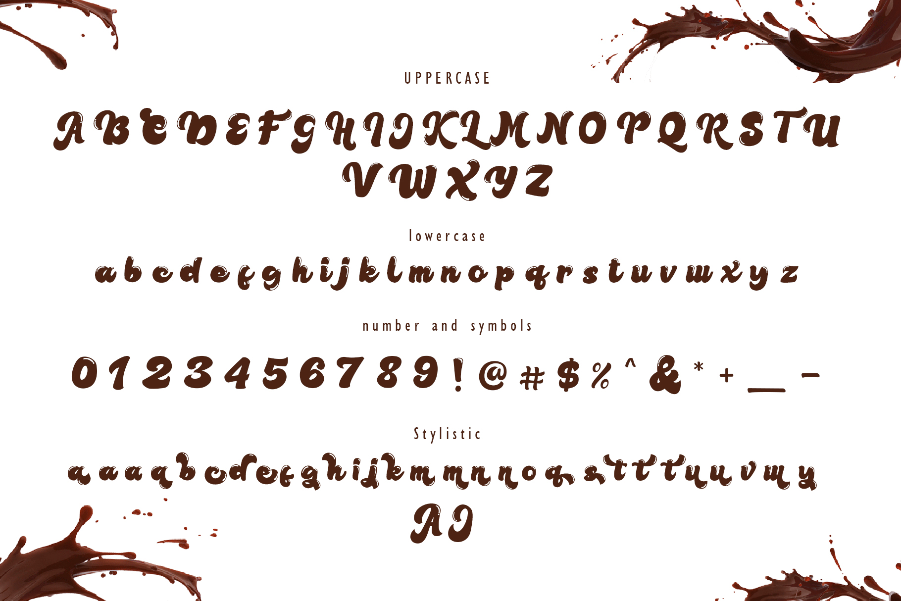Lolly and Choco || Script Font example image 6