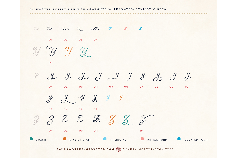Fairwater Script Regular example image 23