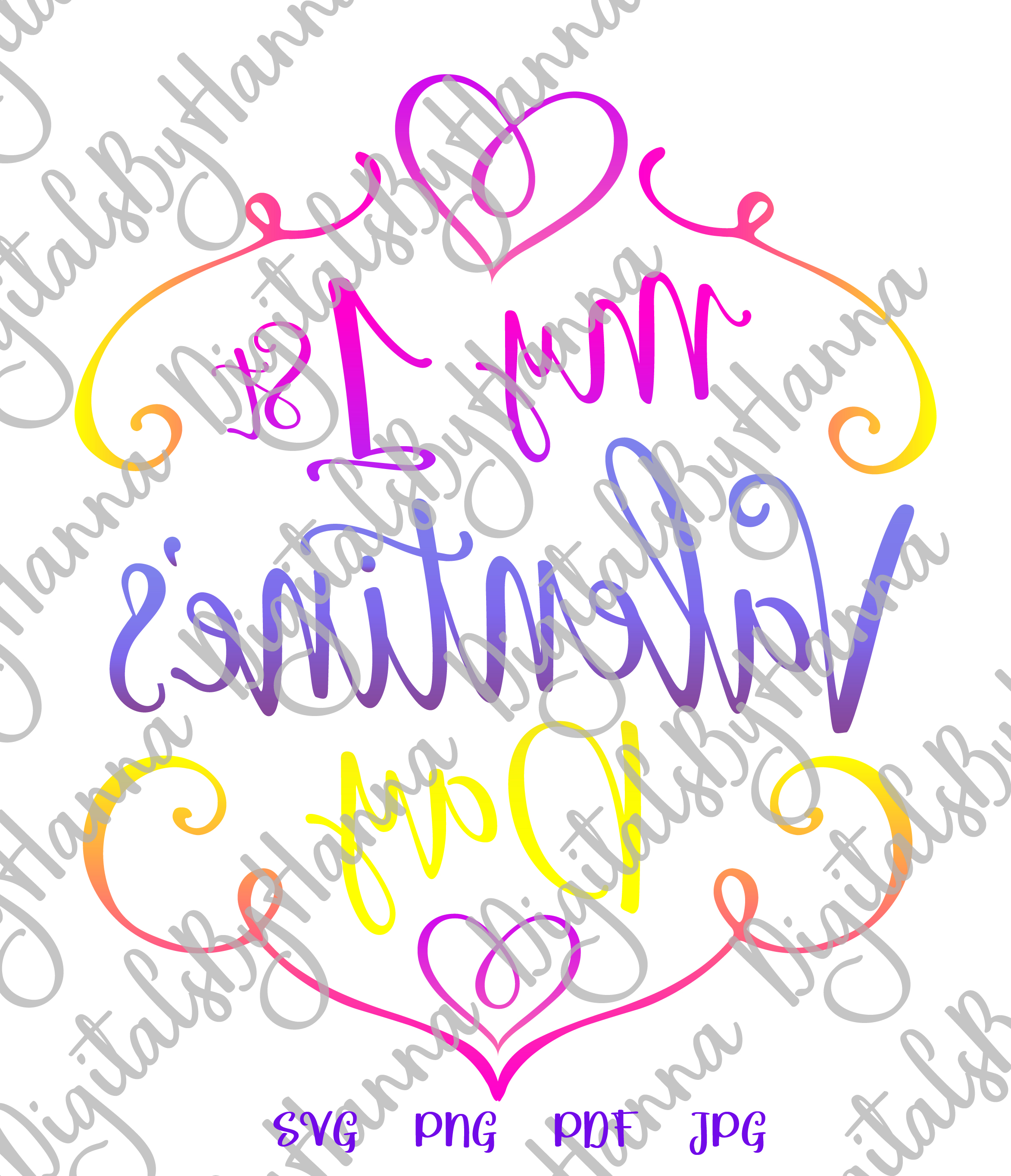 My 1st valentine's day first Year Sign Print & Cut PNG SVG example image 3
