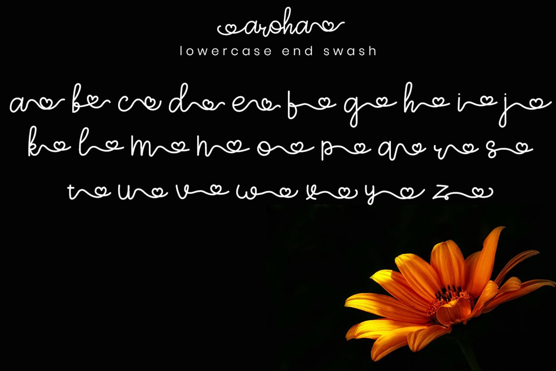 Aroha Script example image 8