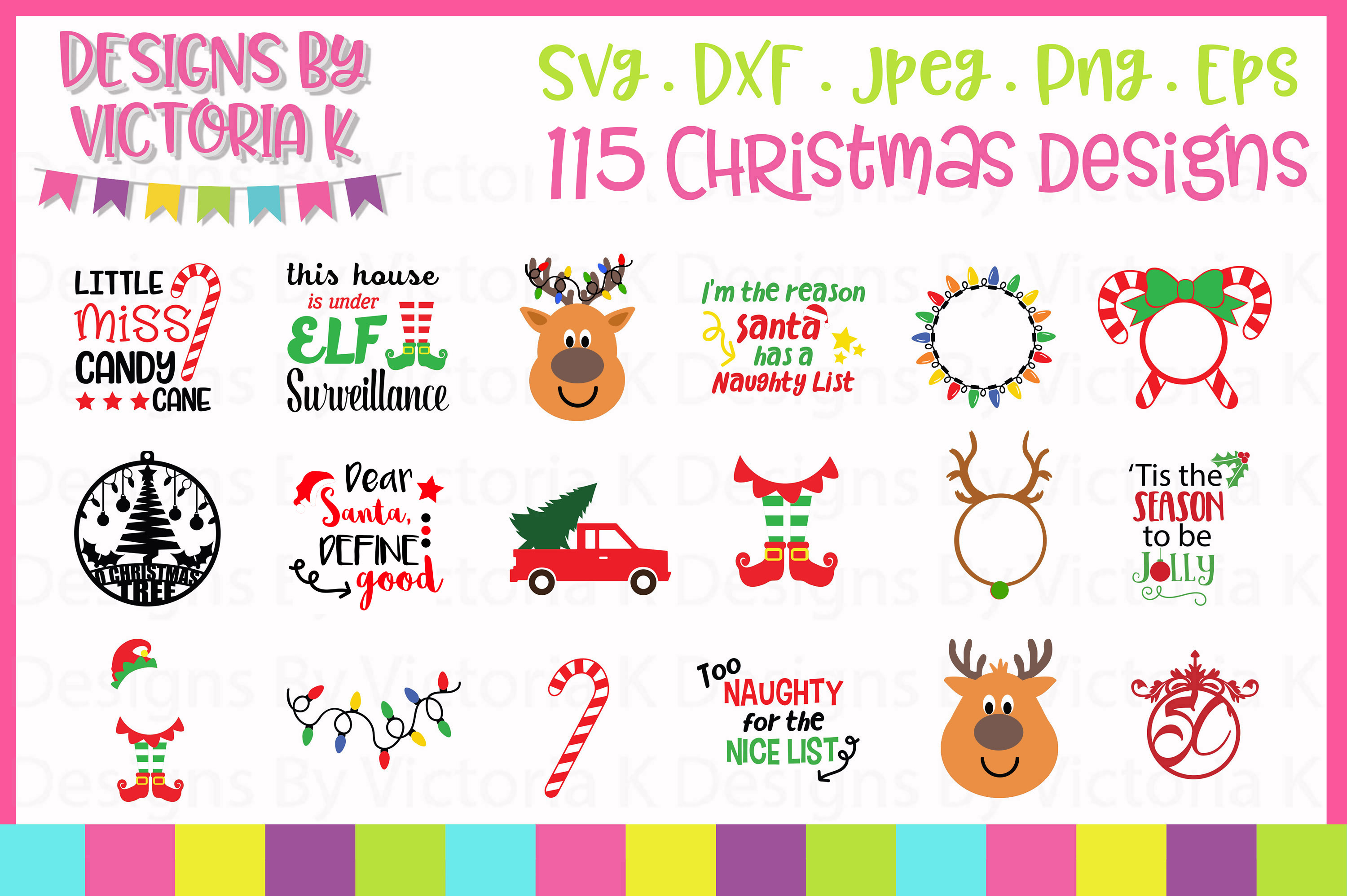 Christmas Bundle SVG Cut Files example image 2